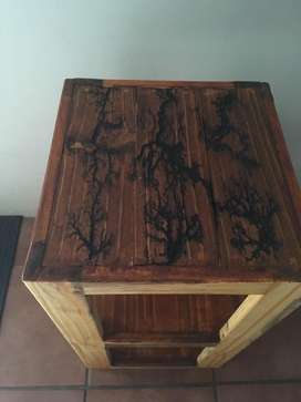 Rustic Side Table 330x330x590 high