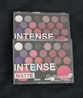 Intense matte gulf flower makeup pallete