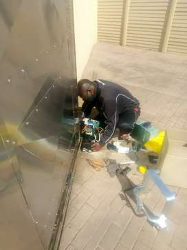 Gate motor supply and install