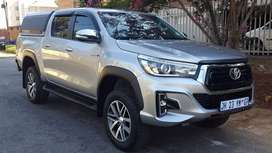 2018 TOYOTA HILUX 2.8L GD6 4X4 AUTOMATIC DOUBLE CAB CANOPY FOR CASH