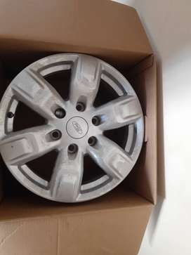 """3 x Ford Everest 17"""" inch Rims"""