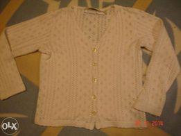 H&M Sweterek ażurkowy _ 104 Święta