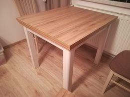 OKAZJA Stół do salonu 80x90 + mały stolik 60x50