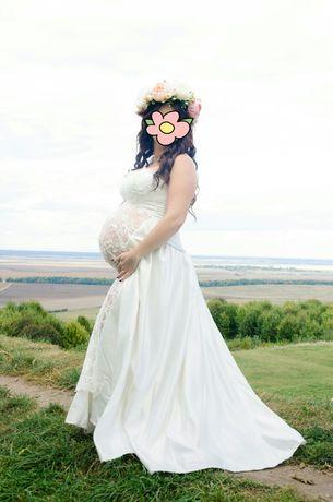 Плаття для фотосесії для вагітних