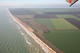 Два участка по 6,6 гектара возле моря.