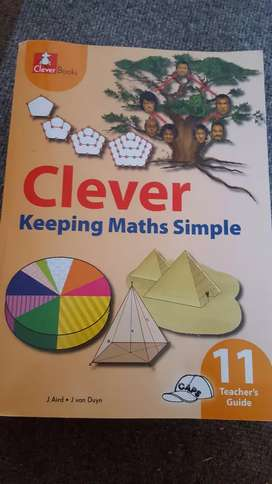 Clever keeping maths simple grade 11