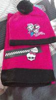 Komplet czapka + szalik Monster High