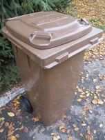 Pojemniki na odpady 120l bio, kosz, kontener, kubeł, na śmieci, kubły
