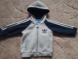 Adidas original детская теплая кофта 3-9 мес.