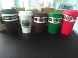 Чашка стакан термос для кофе банка Starbucks термокружка Старбакс