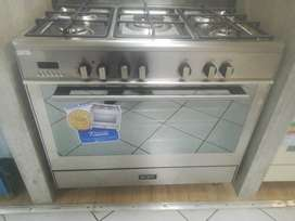 Elba 90cm gas electric stove