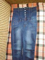 джинсы женские с шнуровкой