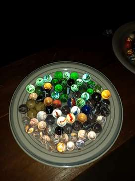Variety of Collectable marbles