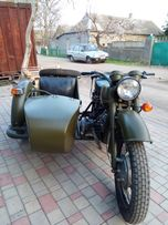 Мотоцикл Днепр 100% реставрация