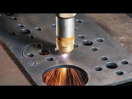 Плазменная резка металла ЧПУ, раскрой листового металла.