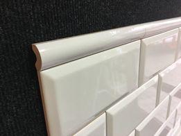 Plytki dekoracje kafle Tamoe Cygaro Białe / Bianco 2,5x20 MIRANI 7zł
