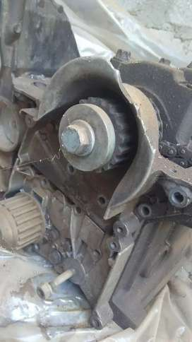 Nissan np200 block with pistons