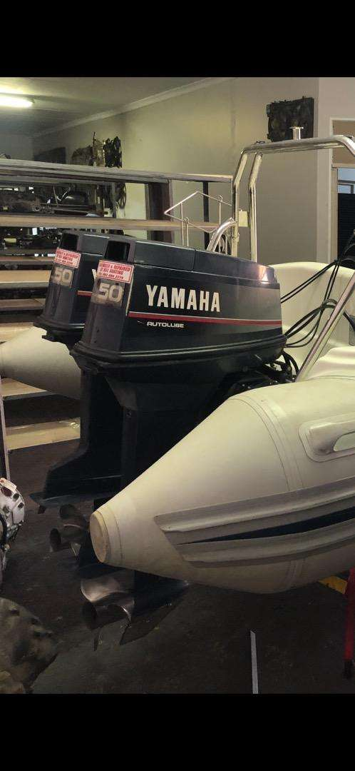 Yamaha outboards 2x 50hp 2stroke 3cyl 0