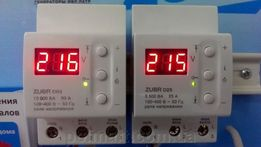 Реле напряжения Zubr D32t. Защита вашей электросети с гарантией 5 лет!