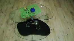 Stolik szklany rozkładany - ława