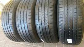 A set of tyres sizes 225/55/17 piller run flat now available