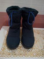 зимние сапоги Crocs