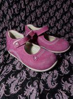 Ортопедические туфли детские, замш. Размер 24