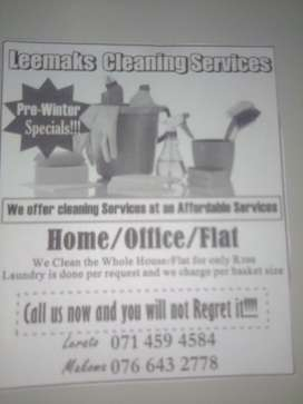 Lee'mak cleaning services