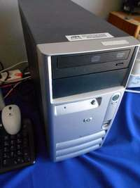 Image of Hp Desktop with 3GB Ram and 160GB Hard Drive