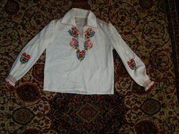 piekna bluzka ludowa goralska recznie wyszywana haftowana folk folkowa