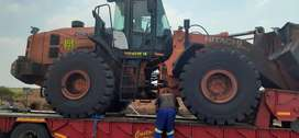 Plant for hire front end loader