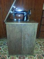 Швейная машинка ПМЗ Калинина Подольск, переделанная на ножной привод