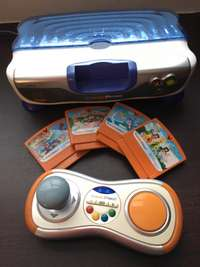 Image of vtech gaming console