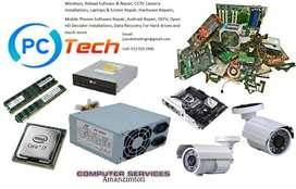 Pc tech services repairs