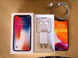 Iphone X 64GB With charger, earphones and 2 new covers. Not negotiable