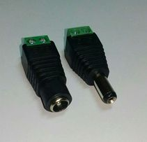 Разъем 5.5х2.1 для светодиодной ленты (пара)