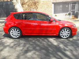 2010 MAZDA 3 MPS, 98,000KM, ELECTRIC WINDOW, DVD PLAYER, LEATHER SEAT