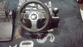 GForce pro PS gaming steering wheel.