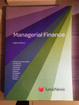 Managerial Finance Eighth Edition