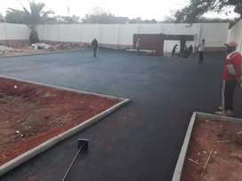 Tarred surfaces and paving