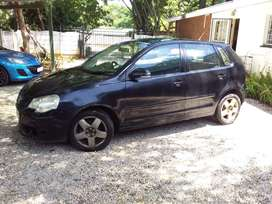 Polo 1.6 2008 mod for sale or to swap for motor bike