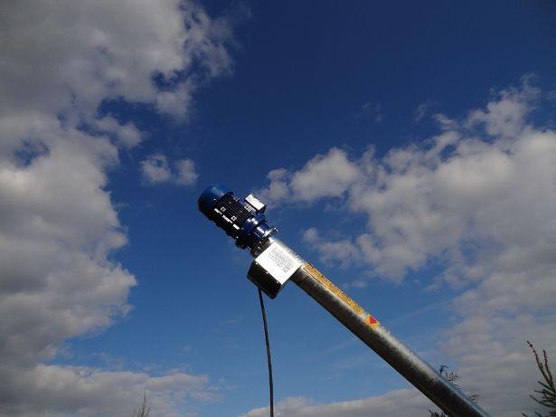 Przenośnik ślimakowy fi 110 OCYNKOWANY rura bezszwowa 4,4m Dakowy Suche - image 3