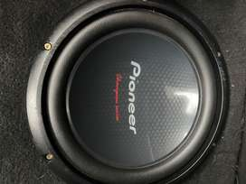 """Audiobank competition mono block amp & Pioneer 10"""" dvc subs"""