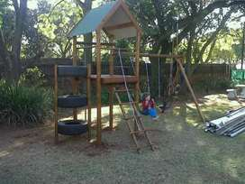 Fort tower Jungle gym