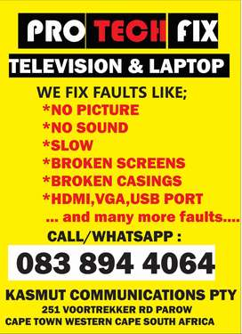 Television and Laptop Repairs