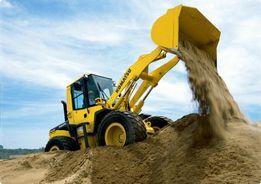 Шлак, песок, щебень