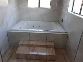 We do plumbing,construction,waterproofing,drywalling,roofing.Call now