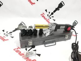 Паяльник для пластиковых труб Euro Craft Польша 4 насадки 16-32мм