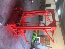 Block machine M150 5 drop. Complete with vibration motor and electrics