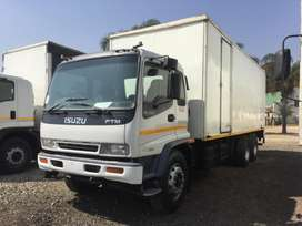 ISUZU FTM1200 VOLUME BODY WITH TAIL LIFT